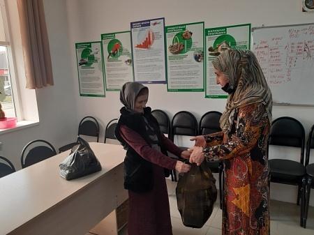 ППО г.Грозный оказала благотворительную помощь пожилым людям и многодетным семьям