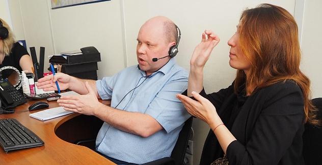 Завершилась очередная Горячая линия юридической поддержки для инвалидов по слуху