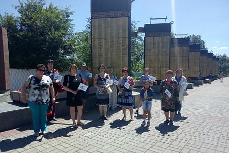 В ППО г.Оренбург провели акцию в память о героях войны