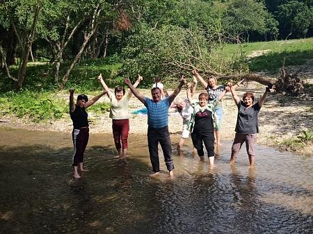 Профком ППО КВМ организовал командный отдых на природе