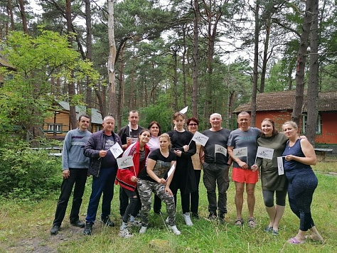 В Калининграде члены Профсоюза провели выходные на турбазе