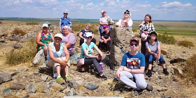 Активисты ППО Оренбурга совершили командную поездку в заповедник