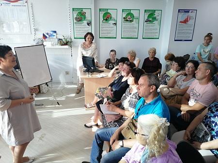 Руководитель Координационного совета Приволжского ФО встретилась с активистами из Челябинска