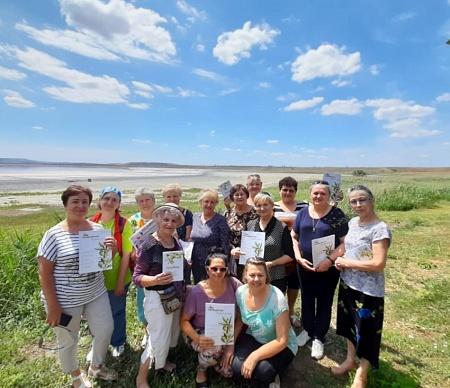 В Ставрополе активисты Профсоюза совершили экологическую турпоездку