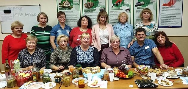 В Вологде профком организовал ярмарку урожая