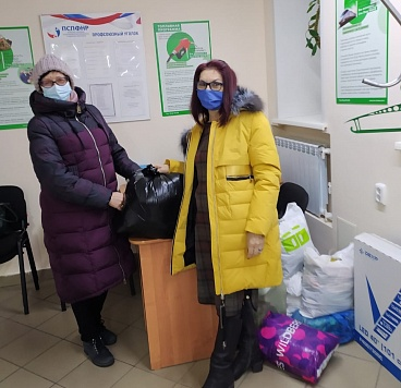 Члены ППО Рубцовска организовали благотворительную акцию для малоимущих семей