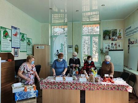 В Пятигорске профком организовал весеннюю ярмарку