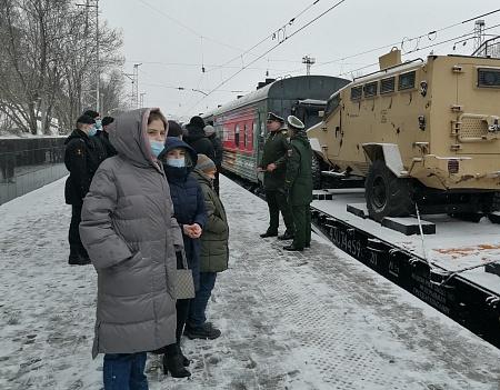 Члены мурманской ППО приняли участие в акции ко Дню Победы