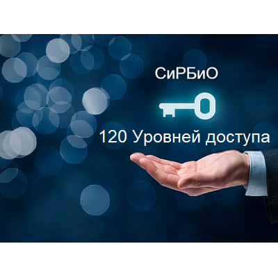 120 уровней доступа СиРБиО